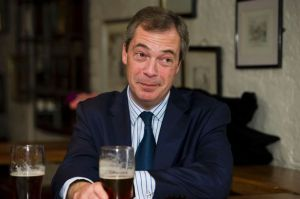 UKIP+leader+Nigel+Farage